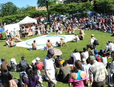 Photo of the Sumo Tournament at the 2012 Festival by RTom Studios
