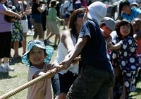 Photo of the Tug of War at the 2008 Powell Street Festival - by Jeanie Ow